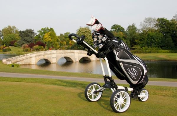 00038225e54 Stewart Golf Z1 Push Cart