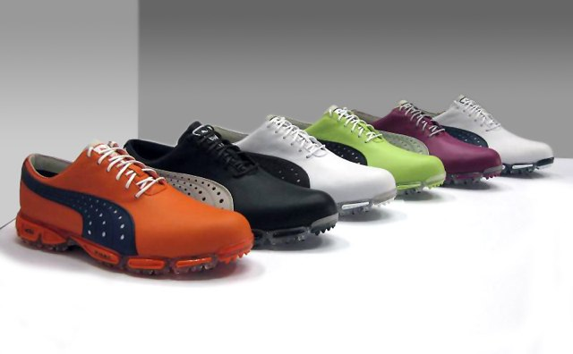 a86b72f65f7 Poulters Ryder Cup inspired custom PUMA Golf shoes