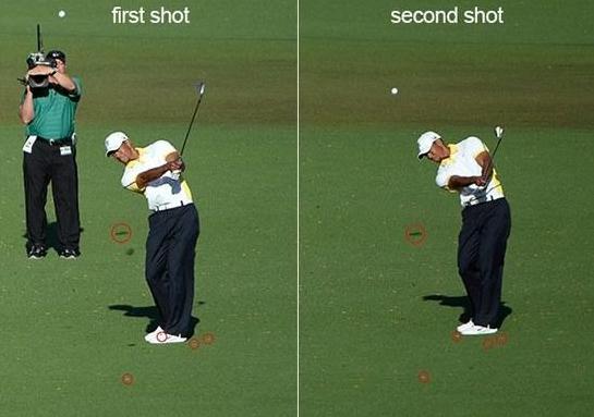 Tiger Drop at Masters