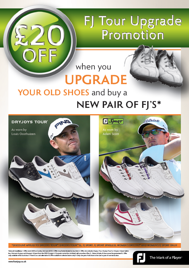 FootJoy Upgrade Promotion