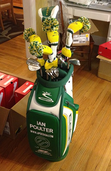 Ian Poulter Cobra Masters Tour Bag