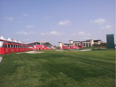 Abu Dhabi 18th Green