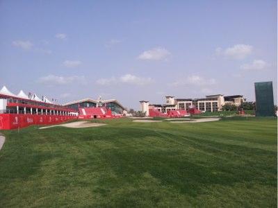 Abu Dhabi 18th Green