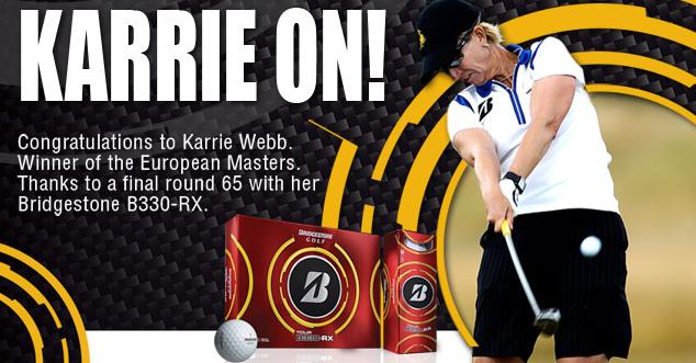 Karrie Webb Bridgestone