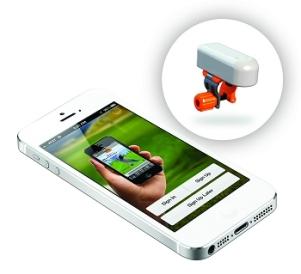 SkyPro unit and phone