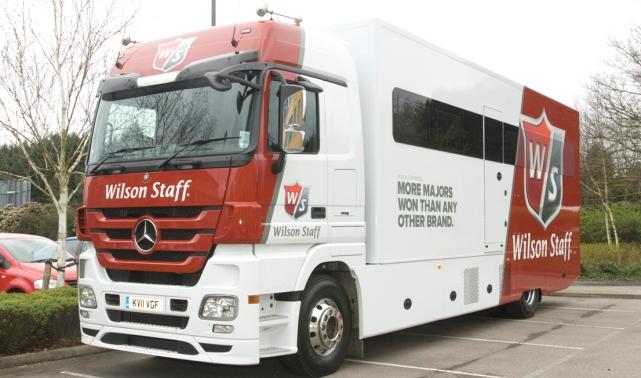 Wilson Staff Tour truck