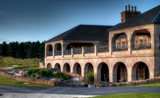 Archerfield Links clubhouse