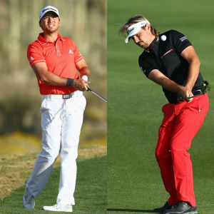 Jason day & Victor dubisson