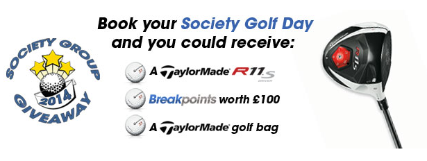 Teeofftimes society/group offer