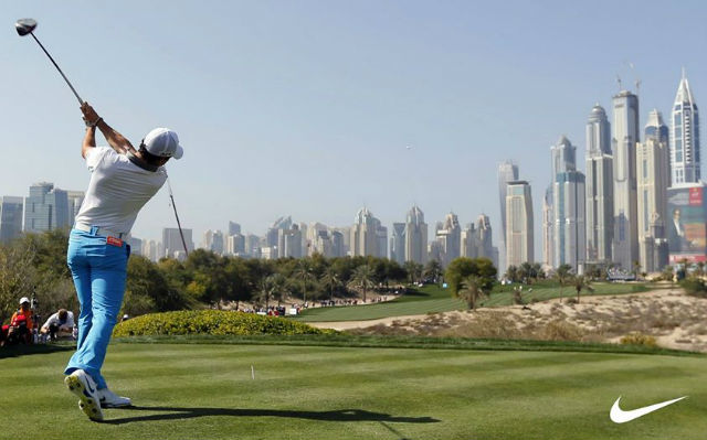 Rory MciLroy Dubai Nike