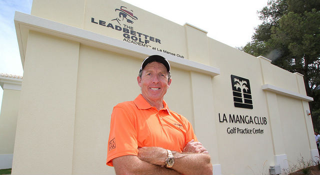 David Leadbetter at his La Manga Academy