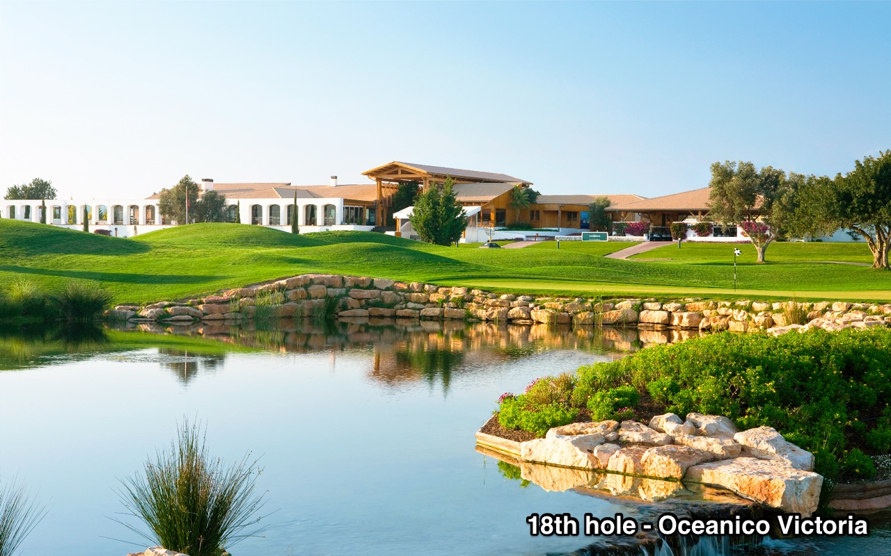 18th hole - Oceanico Victoria