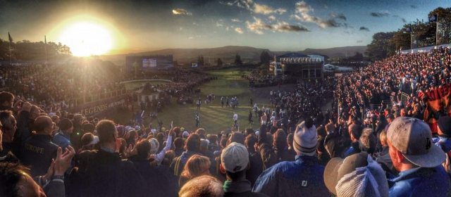 Gleneagles first tee