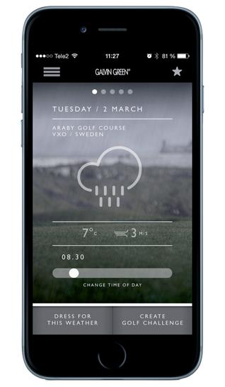 Galvin Green App